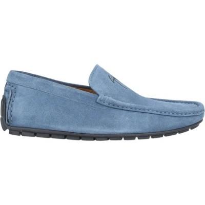 ジュゼッペ ザノッティ GIUSEPPE ZANOTTI メンズ ローファー シューズ・靴 loafers Dark blue