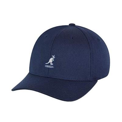 Kangolメンズウールフレックス・フィットベースボールキャップ US サイズ: XL カラー: ブルー