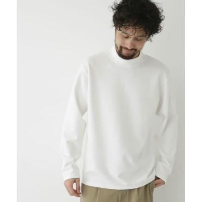 Sonny Label/サニーレーベル 【WEB/一部店舗限定】モックネックスムースロンT オフ L