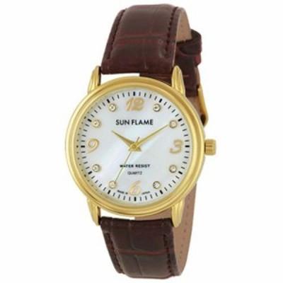 サンフレイム MJG-D91-BR メンズ腕時計
