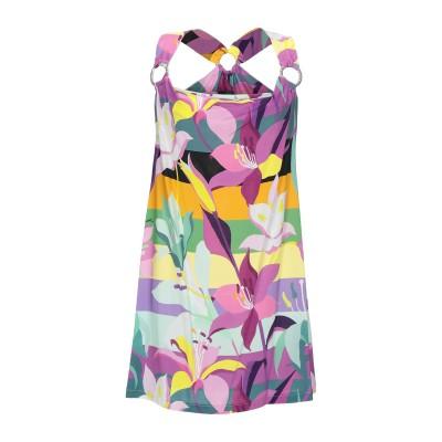ジャストカヴァリ JUST CAVALLI ミニワンピース&ドレス パープル 48 レーヨン 100% ミニワンピース&ドレス