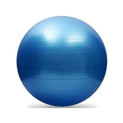 青 バランスボール フィットネスボール ストレッチボール ヨガ