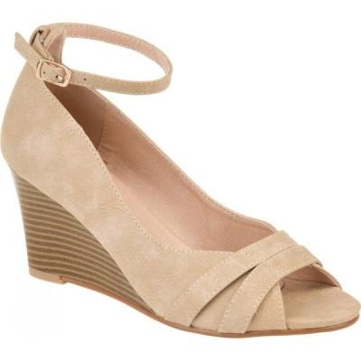 ジュルネ コレクション Journee Collection レディース シューズ・靴 ウェッジソール Palmer Wedge Taupe