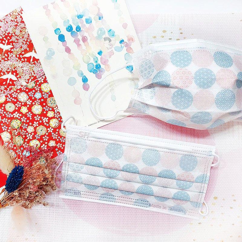 【上好生醫】日系_藍粉款_成人醫療口罩/5入裝/30入盒裝/MD雙鋼印