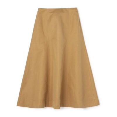 スカート ESTNATION / コットンリネンマーメイドスカート