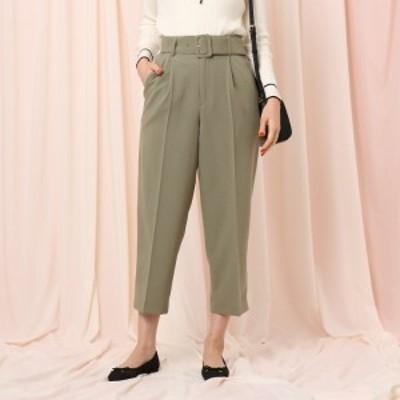 クチュールブローチ(Couture Brooch)/【WEB限定サイズ(LL)あり】ベルテッドワイドパンツ