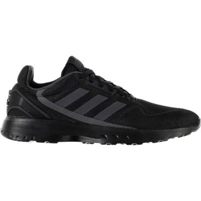 アディダス adidas メンズ スニーカー シューズ・靴 Nebula Zed Trainers Blk/DkGrey/Blk