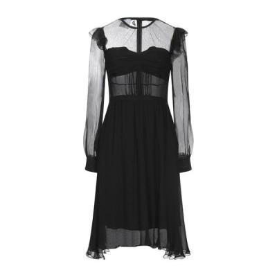 DONDUP シルクドレス ファッション  レディースファッション  ドレス、ブライダル  パーティドレス ブラック