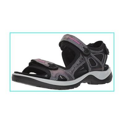 【新品】ECCO Women's Yucatan outdoor offroad hiking sandal, irridescent, 5-5.5 M US(並行輸入品)