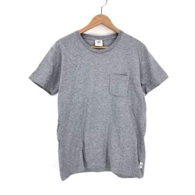 ミスタージェントルマン MISTER GENTLEMAN NEW YOURS LOGO TEE クルーネックTシャツ メンズ  中古 210319