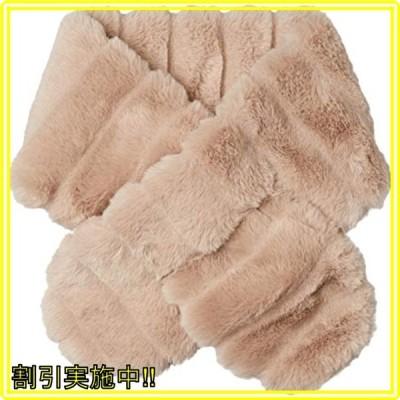 [ムーンバット] ファー MOONBAT(ムーンバット) ファーマフラー 首巻き ふわふわ もこもこ 防寒 シンプル レディー