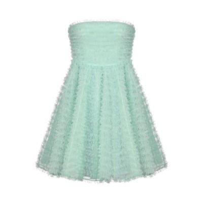 ディースクエアード DSQUARED2 ミニワンピース&ドレス ライトグリーン 40 ナイロン 100% / ポリエステル ミニワンピース&ドレス