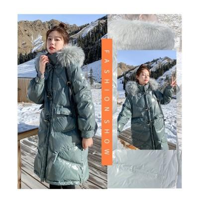 2021 ダウンジャケット レディース ダウンコート 中綿 暖かい ショート丈 アウター コート 無地 防寒 フード付き 防風 軽量 冬 ショートコート