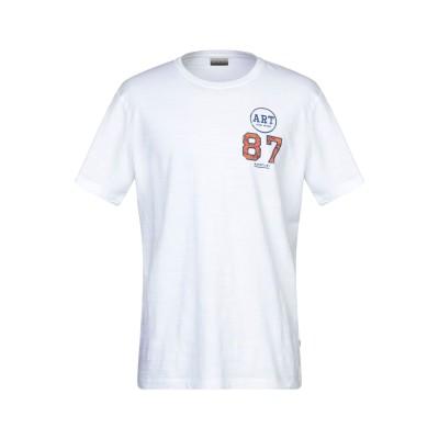 ナパピリ NAPAPIJRI T シャツ ホワイト XL コットン 100% T シャツ