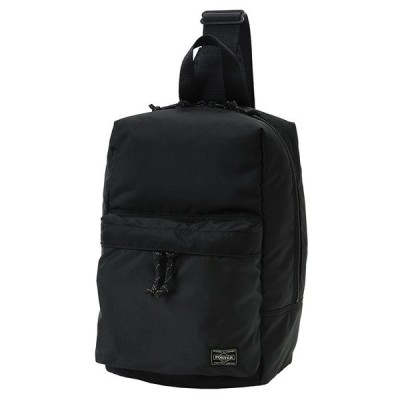 吉田カバン・ポーター・PORTER FORCE  SLING SHOULDER BAG 10BLACK