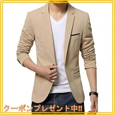 [TOPSKY] ジャケット メンズ カジュアル ビジネス 細身 テーラードジャケット ブレザー メンズ