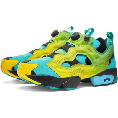 リーボック Reebok メンズ スニーカー シューズ・靴 x chromat instapump fury Emerald/Yellow/Glacier Blue