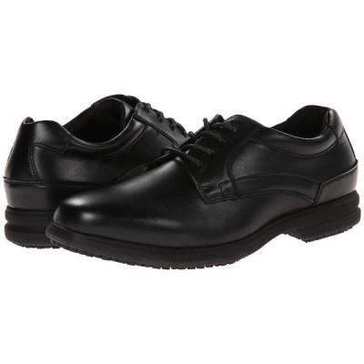 ノンブッシュ メンズ オックスフォード シューズ Sherman Slip Resistant Plain Toe Oxford