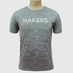 【HAKERS 哈克士】男 迷彩涼感上衣 共3色 (尺寸L-3XL)