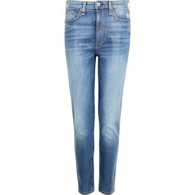ラグ&ボーン rag & bone レディース ジーンズ・デニム ボトムス・パンツ Nina Blue Coated Skinny Jeans Blue