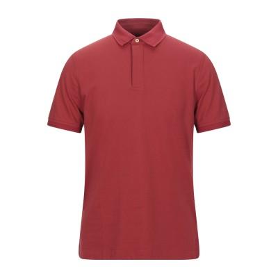 ヘリテージ HERITAGE ポロシャツ レッド 50 コットン 95% / ポリウレタン 5% ポロシャツ