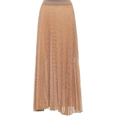 ミッソーニ Missoni レディース ひざ丈スカート スカート knit midi skirt Gold