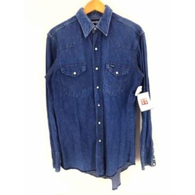 ラングラー Wrangler デニムシャツ サイズJPN:XL メンズ 【中古】【ブランド古着バズストア】