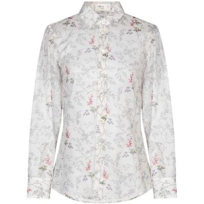 SAINT LAURENT シャツ ホワイト 36 コットン 100% シャツ