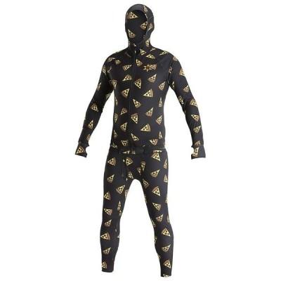 エアブラスター トップス メンズ フィットネス Airblaster Men's Classic Ninja Suit Pizza