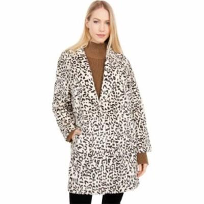 ラブトークン Love Token レディース コート ファーコート アウター Gale Leopard Faux Fur Coat Cheetah