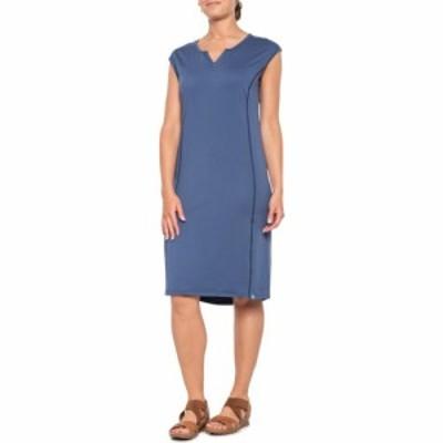 シムス Simms レディース ワンピース ノースリーブ ワンピース・ドレス Drifter Dress - UPF 50+. Sleeveless Dark Blue