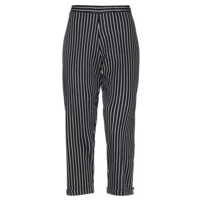NEERA パンツ ブラック 42 コットン 60% / レーヨン 40% パンツ
