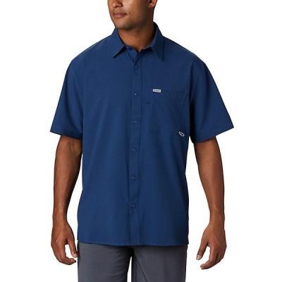 コロンビア シャツ メンズ トップス Columbia Men's PFG Zero Rules Woven SS Shirt Carbon