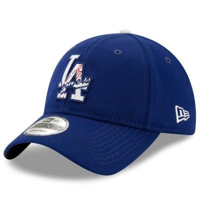 ドジャース キャップ ニューエラ New Era MLB 2021バッティングプラクティス 9TWENTY Adjustable Hat ロイヤル 21nrs