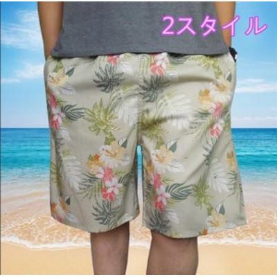 メンズショートパンツ プリント 薄手 ファッション 海/スポーツ/ショートパン 着心地よい 夏休み メンズショートパンツ