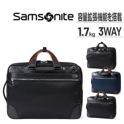 サムソナイト ビジネスバッグ 公式 バッグ Samsonite EPid3 エピッド3 スリーウェイバッグ エキスパンダブルメンズ 鞄 撥水 ビジネス 送料無料 PC収納