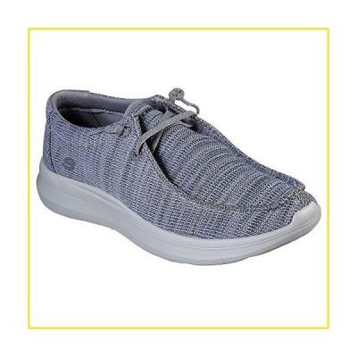新品Skechers Delson 2.0 - Arego Grey 12並行輸入品