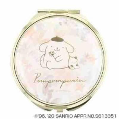 サンリオ ポムポムプリン POMPOMPURIN コンパクトミラー 手鏡 拡大鏡付 SR-M0032-OR