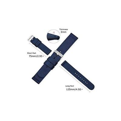 時計ベルト 時計 ベルト ファブリック 18mm 20mm 22mm 24mm 時計 バンド 時計バンド 替えベルト 替えバンド ベルト 交