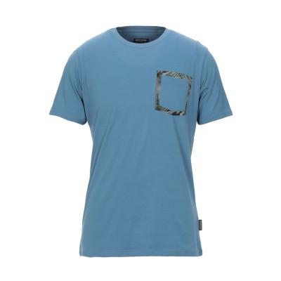 ウールリッチ WOOLRICH T シャツ パステルブルー XL コットン 100% T シャツ
