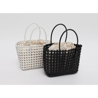 From Beginning レディース トートバッグ Punching twist tote bag_Y