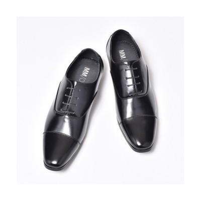 (SVEC/シュベック)大きいサイズ ドレスシューズ メンズ ビジネスシューズ MM/ONE エムエムワン MPT123-1 ブラック 黒 ホワイト白ダークブラウン エナメル レースア/メンズ ブラック