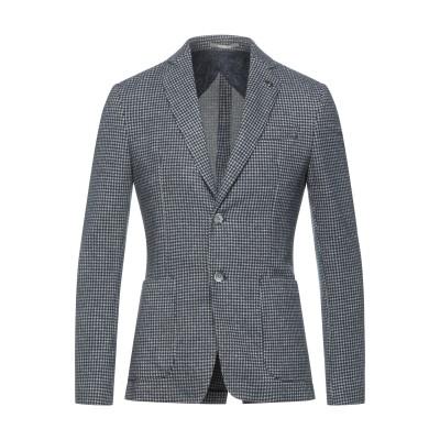 HAVANA & CO. テーラードジャケット ダークブルー 46 ポリエステル 60% / コットン 40% テーラードジャケット
