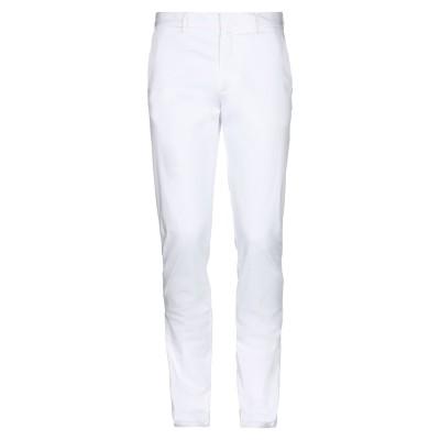 ZZEGNA パンツ ホワイト 48 コットン 97% / ポリウレタン 3% パンツ