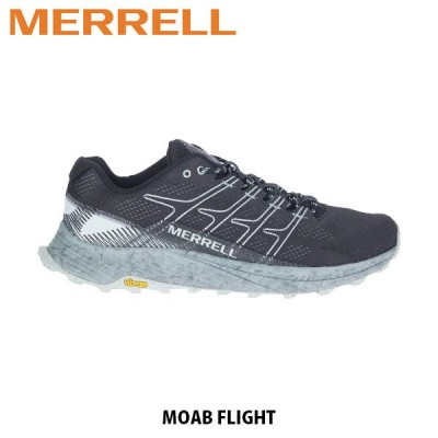 メレル MERRELL モアブ フライト MOAB FLIGHT BLACK ブラック メンズ トレイルランニングシューズ トレラン スニーカー アウトドア J066751 MERM066751