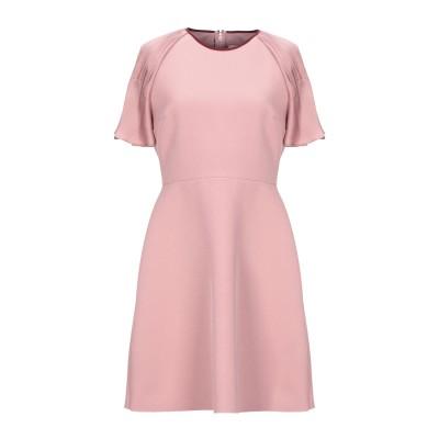 ROKSANDA ミニワンピース&ドレス ピンク 12 ポリエステル 98% / ポリウレタン 2% ミニワンピース&ドレス
