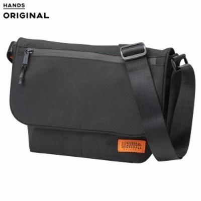 東急ハンズオリジナル ユニバーサルオーバーオール フラップミニショルダー ブラック│ショルダーバッグ