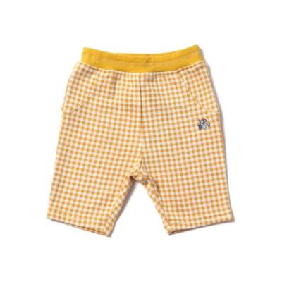 【ケーピー】 KPBOY(ケーピーボーイ)ギンガムチェックジャガードの6分丈パンツ(80-90cm) キッズ その他 90 KP