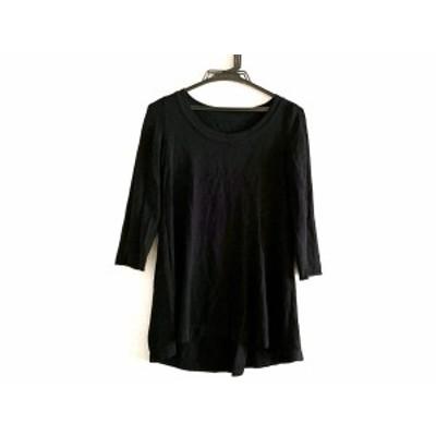 フォクシーニューヨーク FOXEY NEW YORK 長袖セーター サイズ38 M レディース 黒【中古】20210123