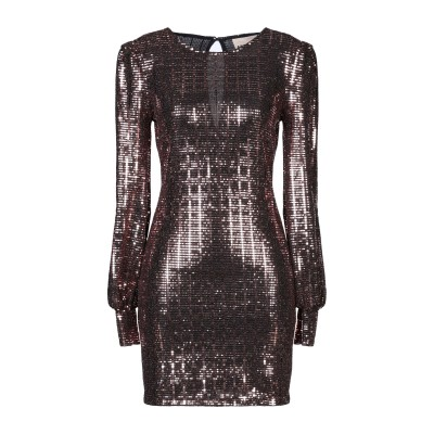 アニヤバイ ANIYE BY ミニワンピース&ドレス カッパー M ナイロン 87% / 金属繊維 8% / ポリウレタン 5% ミニワンピース&ド